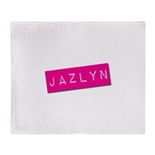 Jazlyn Punchtape Throw Blanket