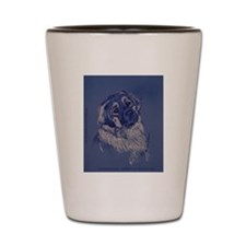 """A Dog Understands"" Shot Glass"