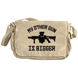 MY OTHER GUN Messenger Bag