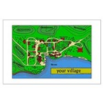 Your Village Large Poster