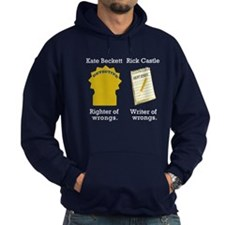 Castle - Righter Writer of Wrongs Hoodie