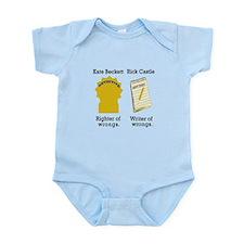 Castle - Righter Writer of Wrongs Infant Bodysuit