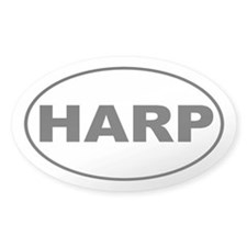 Harp Music Decal
