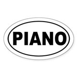 Piano Music Decal
