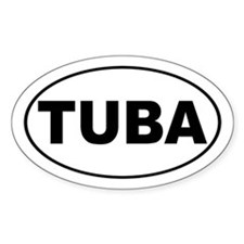 Tuba Music Decal