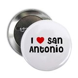 "I * San Antonio 2.25"" Button (10 pack)"