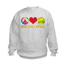 Girls Softball Sweatshirt