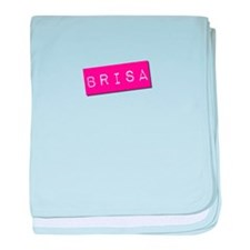 Brisa Punchtape baby blanket