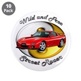 Mazda RX-7 3.5 Inch Button (10 pack)
