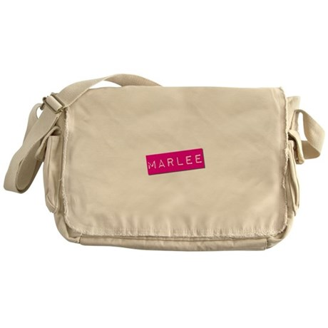 Marlee Punchtape Messenger Bag