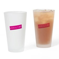 Annalise Punchtape Drinking Glass