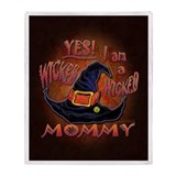 Wicked Mommy! - Throw Blanket