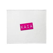 Kaia Punchtape Throw Blanket