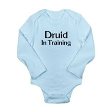 Druid in Training Long Sleeve Infant Bodysuit