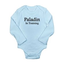 Paladin in Training Long Sleeve Infant Bodysuit