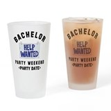 Bachelor Pint Glasses