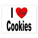I Love Cookies Small Poster