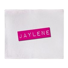 Jaylene Punchtape Throw Blanket