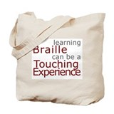 Tote Bag - Braille Touch