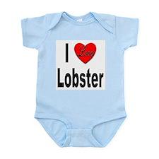 I Love Lobster Infant Creeper