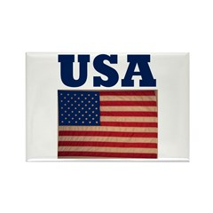 USA/America III Rectangle Magnet (100 pack)