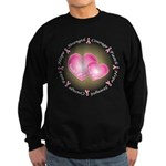 Pink Ribbon Sweatshirt (dark)