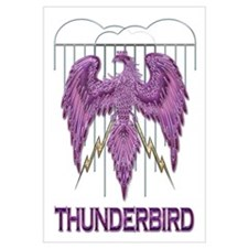 Native American Purple Thunderbird