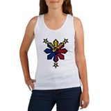 Philippine History Symbols II Women's Tank Top