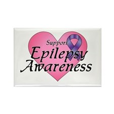Support Epilepsy Awareness - Rectangle Magnet