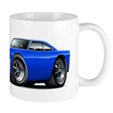 1968 Roadrunner Blue Car Small Mug