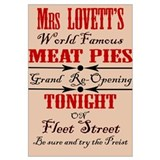 Mrs. Lovett's meat pie Grand opening