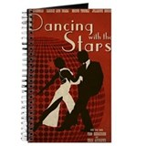 Distressed Retro DWTS Poster Journal