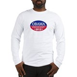 Obama President 2012 Long Sleeve T-Shirt