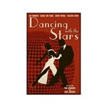 Retro Inspired DWTS Poster Rectangle Magnet (100 pack)