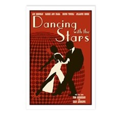 Retro Inspired DWTS Poster Postcards (Package of 8