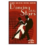 Retro Inspired DWTS Poster Large Poster
