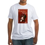 Retro Inspired DWTS Poster Fitted T-Shirt
