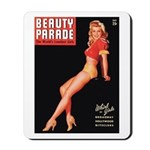 Beauty Parade Vintage Leggy Pin Up Mousepad