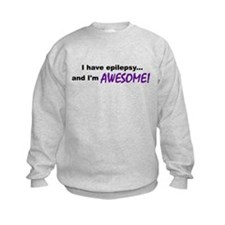 Awesome With Epilepsy Sweatshirt