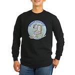 Salty Old Dog Long Sleeve Dark T-Shirt