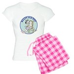 Salty Old Dog Women's Light Pajamas