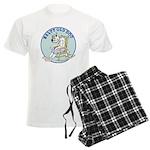 Salty Old Dog Men's Light Pajamas