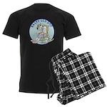 Salty Old Dog Men's Dark Pajamas