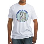 Salty Old Dog Fitted T-Shirt