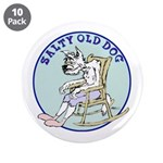 "Salty Old Dog 3.5"" Button (10 pack)"
