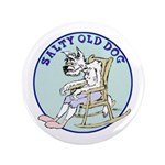 "Salty Old Dog 3.5"" Button"