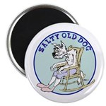 Salty Old Dog Magnet