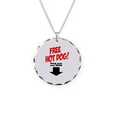 Free hot dog! Necklace
