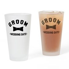 Groom (Your Wedding Date) Drinking Glass