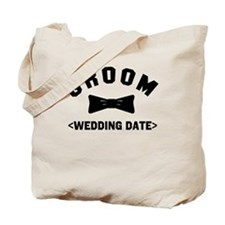 Groom (Your Wedding Date) Tote Bag